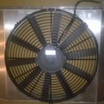 Radiator/koelkap/ventilator